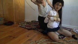 Kinbaku BDSM – Me Suffering in Rope and Shared an Intense Moment